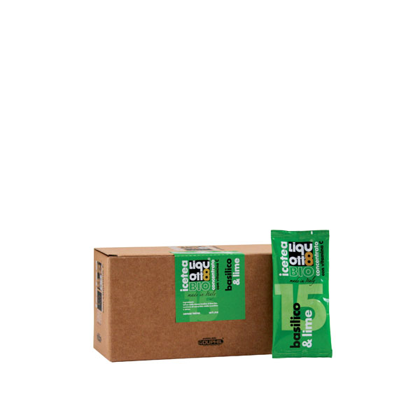 Tisana basilico e lime bio - Gardagel