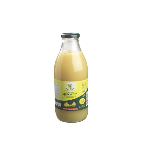 Succo naturale di Bergamotto - senza zuccheri - Gardagel