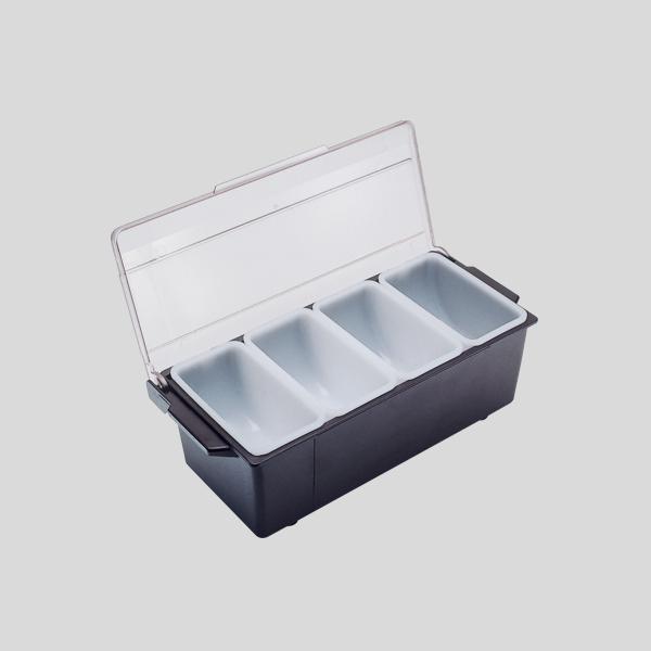 Fruit dispenser a 4 vaschette - fruit dispenser per bar - Gardagel