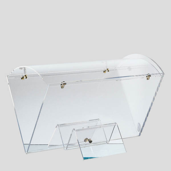 Portaconi triangolare - porta coni gelato con coperchio - Gardagel
