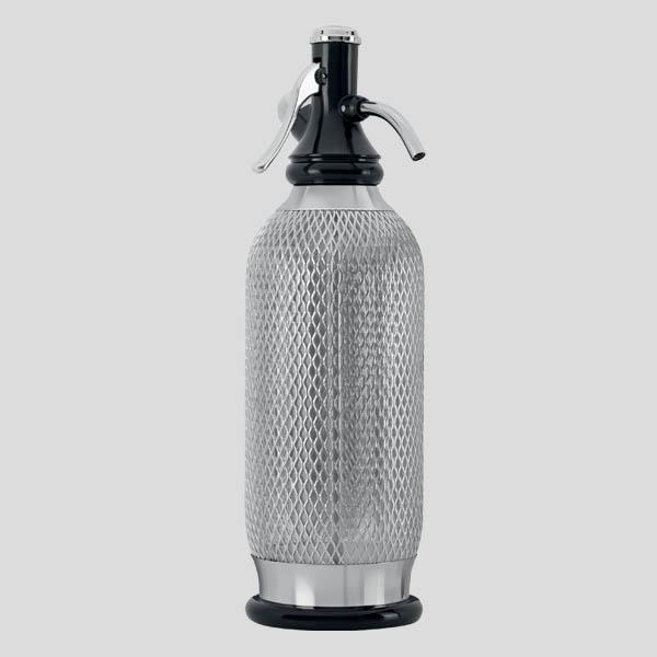 Sifone soda vintage - sifone in acciaio - Gardagel