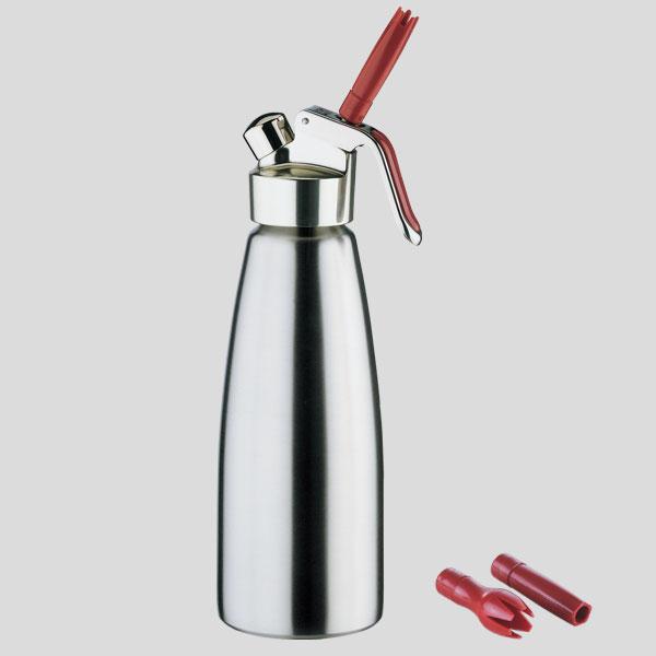 Sifone panna montata - sifone panna in acciaio - accessori bar caffetterie - Gardagel