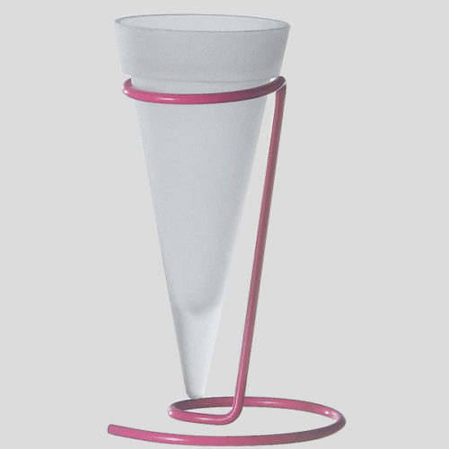 Bicchiere per gelato in vetro satinato - Gardagel