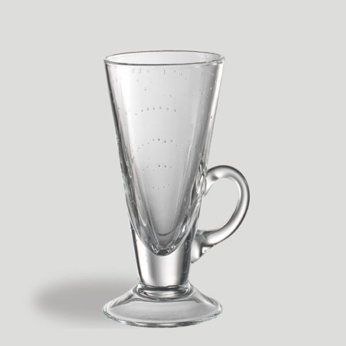 Bicchiere cono con manico - bicchiere in vetro per caffetteria bar - Gardagel