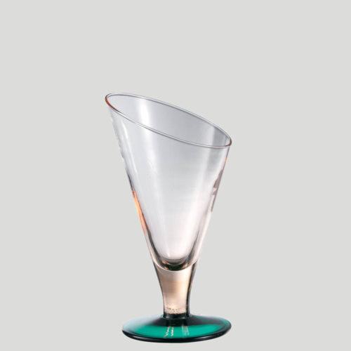 Edelweiss fischio grande - Coppa per gelato in vetro - Gardagel
