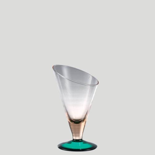 Edelweiss fischio piccolo - coppa per gelato in vetro - Gardagel