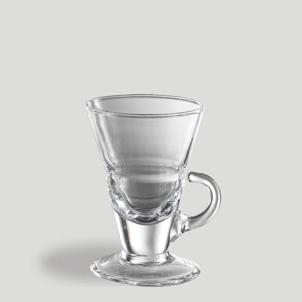 Bicchiere cono yogurt cioccolata - bicchiere in vetro caffè cioccolata yogurt - Gardagel