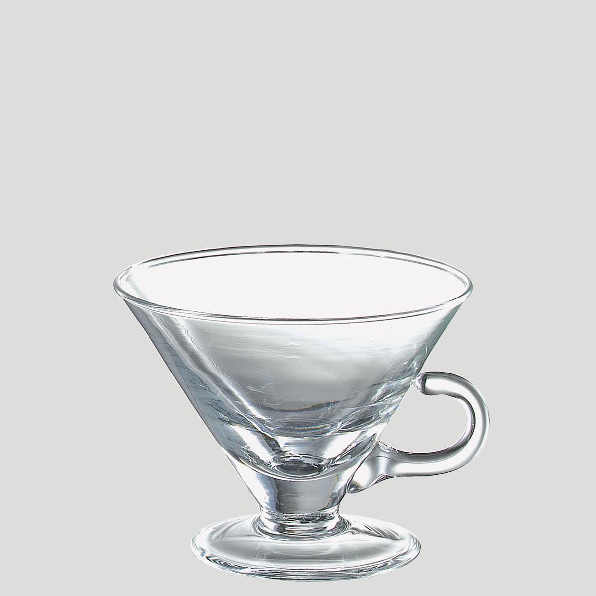 Coppetta cono - coppetta in vetro per caffetteria gelateria - Gardagel