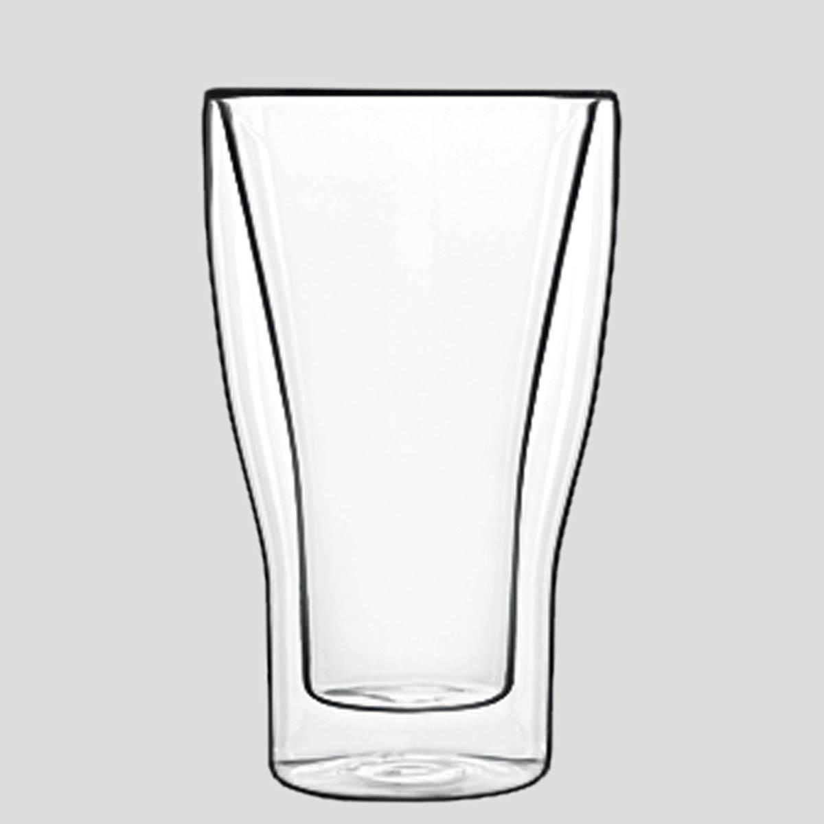 Bicchiere termico latte macchiato - bicchiere in vetro termico - Gardagel