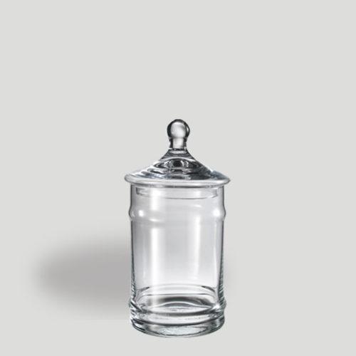 Barattolo piccolo - barattolo in vetro con coperchio - Gardagel