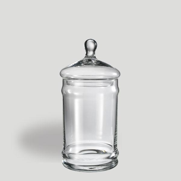 Barattolo medio - barattolo in vetro con coperchio - Gardagel