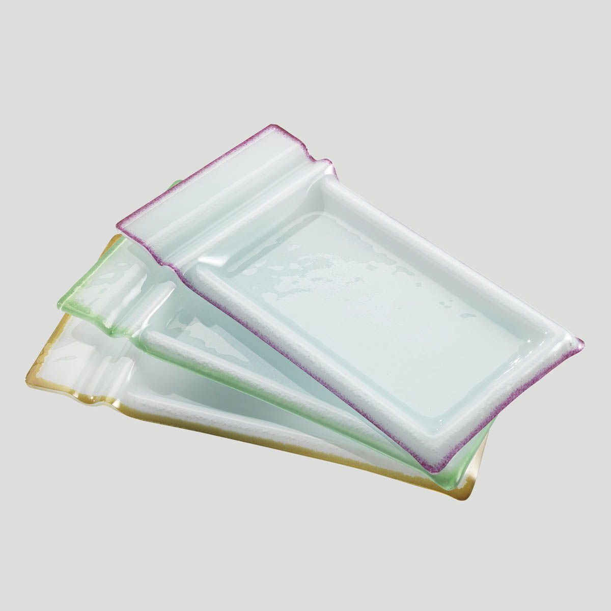 Tavoletta Dessert - piatto in vetro per dessert snack - Gardagel