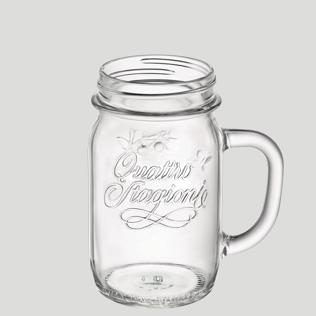 Bicchiere aperitivo con manico - bicchiere in vetro cocktail aperitivi - Gardagel