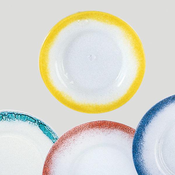 Piatto grande - piatto per gelato e dessert in vetro - Gardagel