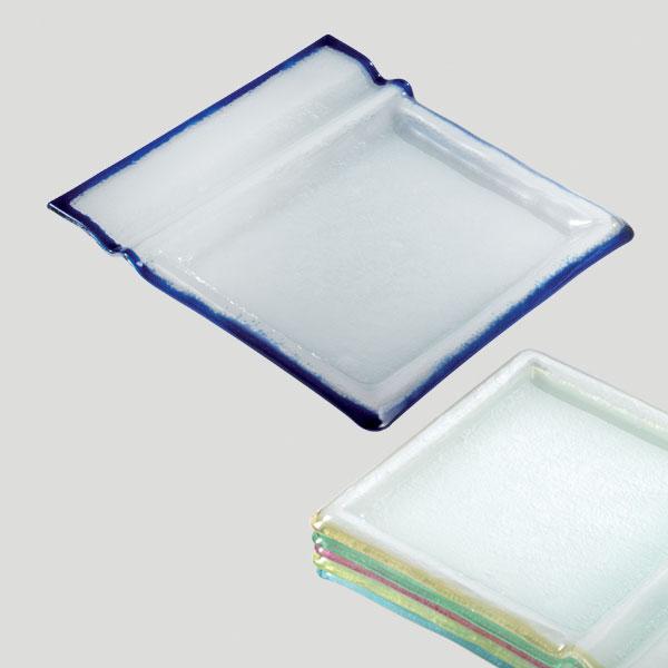Piatto Crepes Waffel - piatto in vetro per snack dessert - Gardagel