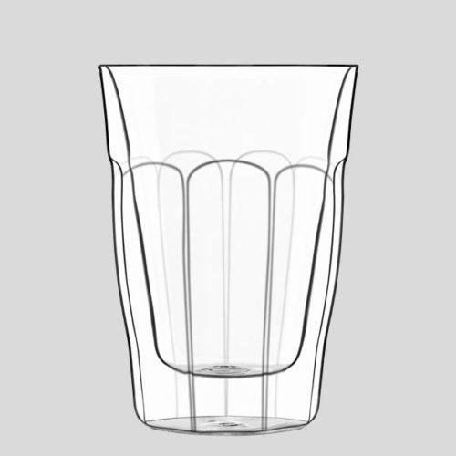 Bicchiere termico grande - bicchiere in vetro termico cocktail - Gardagel