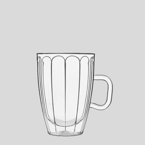 Tazza mug termica - Mug in vetro termico tisane - Gardagel