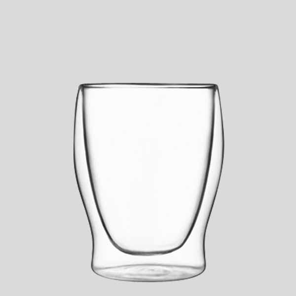 Tumbler medio termico - bicchiere in vetro termico cocktail - Gardagel