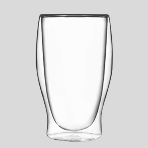 Tumbler termico grande - bicchiere in vetro termico cocktail - Gardagel