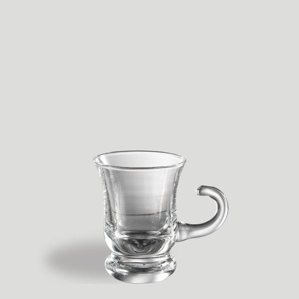 Tazzina cioccolatino - tazza in vetro caffè cioccolata - Gardagel