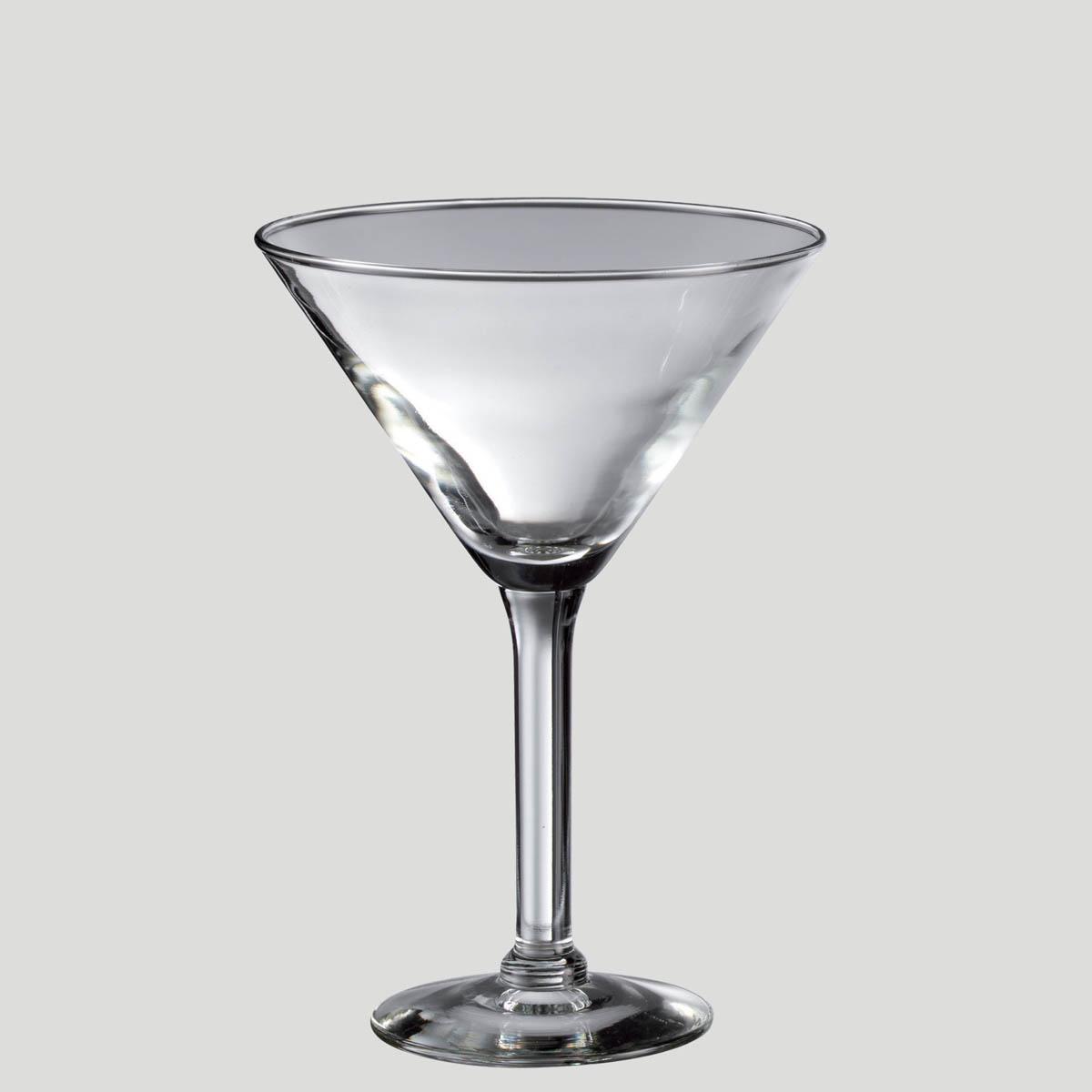 Martini doppio - bicchiere in vetro aperitivi - Gardagel