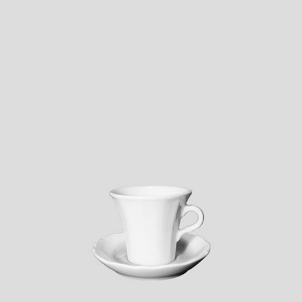 Tazza espresso claudia - tazza in porcellana per espresso - Gardagel