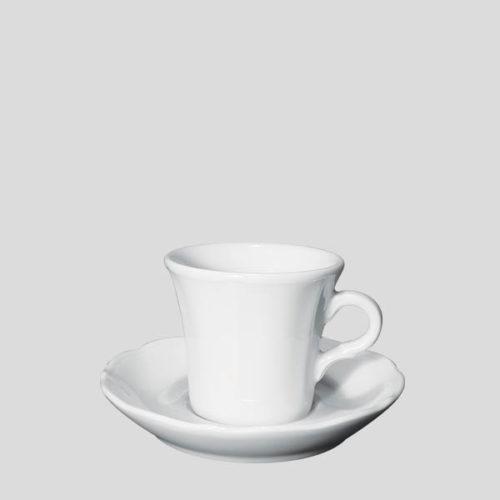Tazza cappuccino Claudia - tazza in porcellana per cappuccino - Gardagel