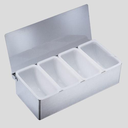 Fruit dispenser in acciaio - accessori per bar - Gardagel