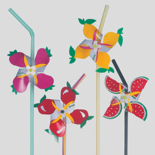 Griandola frutta - decorazione per cannucce - decorazione per cocktail - Gardagel