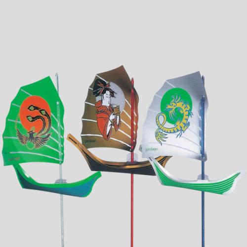Decorazione imbarcazione - decorazione per gelati e long drink - Gardagel