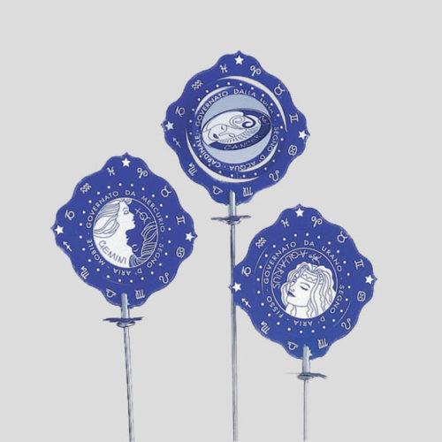 Decorazione zodiaco - decorazione per cocktail e coppe gelato - Gardagel