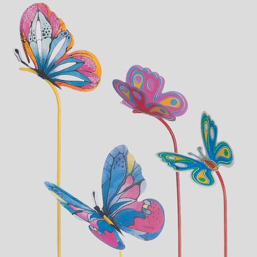 Decorazione farfalla - decorazione butterfly - decorazione per coppe gelato - Gardagel