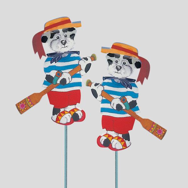 Decorazione Cartoons - decorazione per bambini - decorazione per coppe gelato - Gardagel