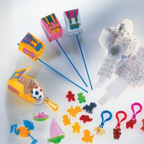 Decorazione zainetto sorpresa - decorazione per bambini - decorazione per coppe gelato - Gardagel