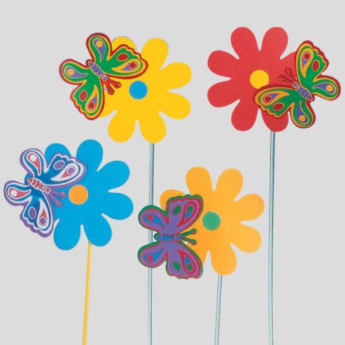 Decorazione Fiorfalla - decorazione per bambini - decorazione per gelaterie - Gardagel