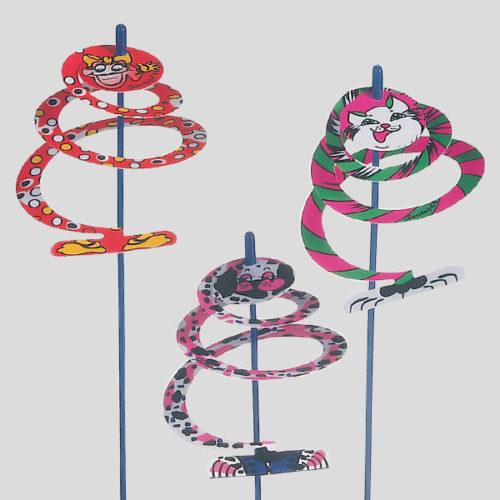Decorazione spiralina - decorazione per cocktail - decorazione per gelato - Gardagel