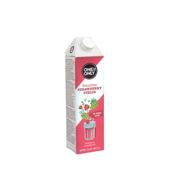 Purea naturale di frutta - Fragola - strawberry- Smoothies - gardagel